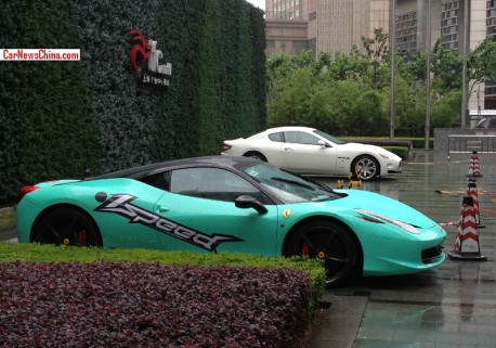 Ferrari 458 Italia is SPEED in China