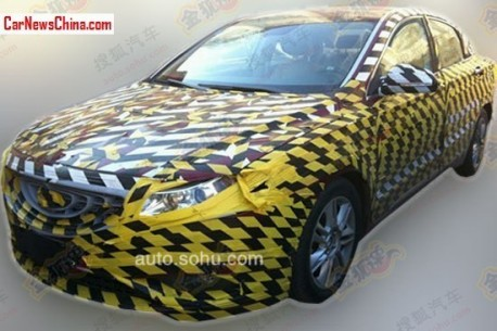 Spy Shots: Geely Emgrand EC9 seen testing in China