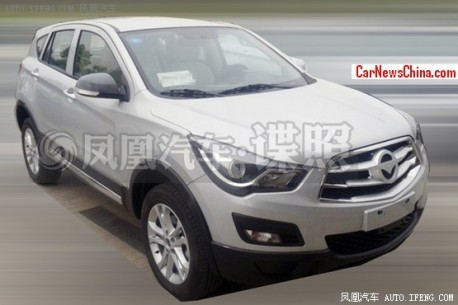 Spy Shots: Haima S5 seen in the Factory in China