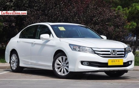 New Honda Accord hits the China car market