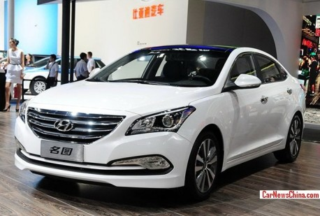 Hyundai Mistra will be launched on the China car market in November