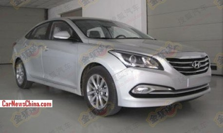 Spy Shots: Hyundai Mistra is ready for the China car market
