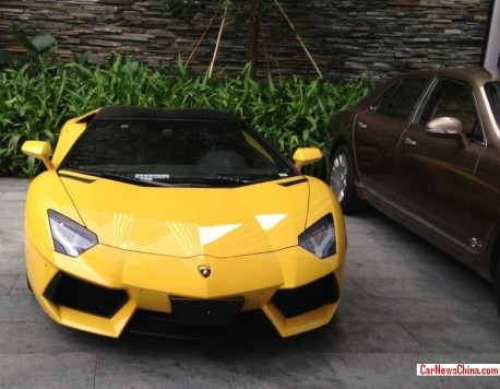 lamborghini-aventador-yellow-china-2