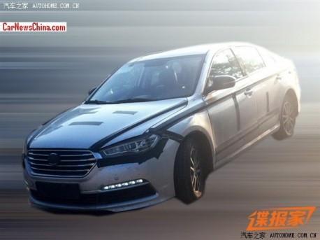 Spy Shots: Lifan 820 sedan seen testing in China