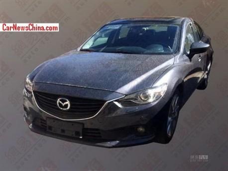 Spy Shots: Mazda Atenza testing in China
