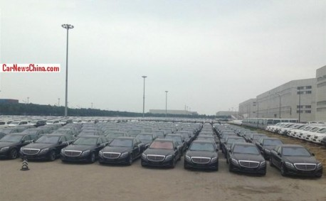 New Mercedes-Benz S-Class arrives in China, by the Boat Load