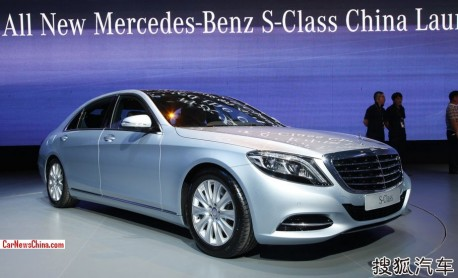 2014 Mercedes-Benz S-Class launched on the China car market