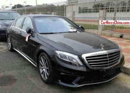 Spy Shots: 2014 Mercedes-Benz S63 L AMG arrives in China