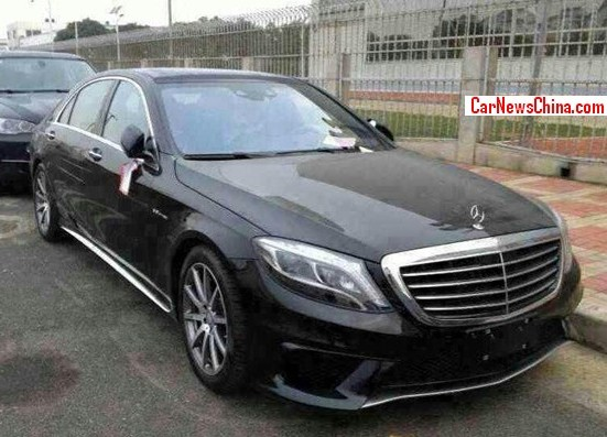 Spy Shots: 2014 Mercedes Benz S63 L AMG Arrives In China