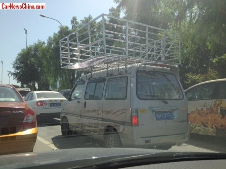 Adding Extra Space to the Minivan in China