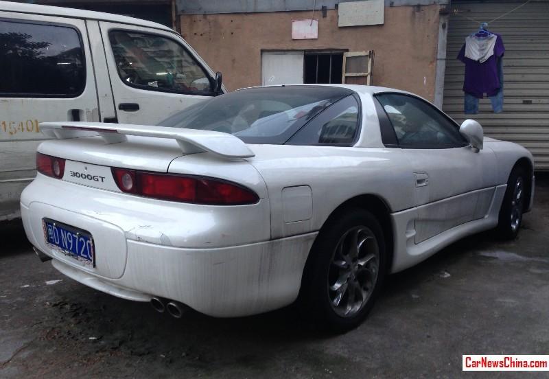 Spotted In China Mitsubishi 3000gt In White Carnewschina Com