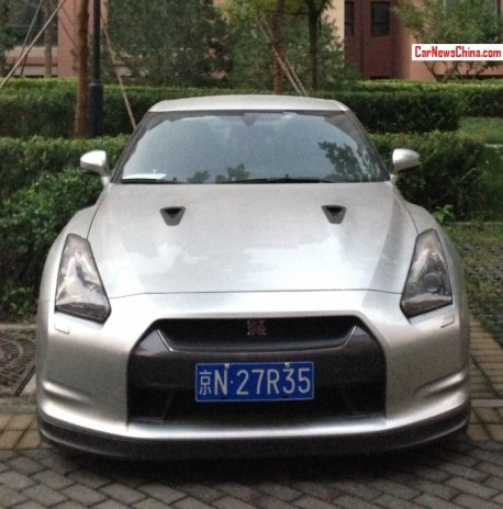 Nissan GT-R's have Licenses in China