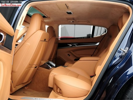 New Porsche Panamera hits the China car market