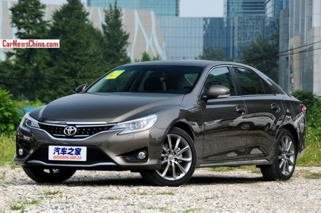 Facelifted Toyota Reiz launched on the China car market