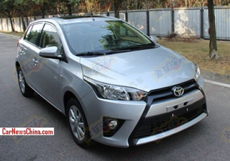 Spy Shots: new Toyota Yaris is Naked in China