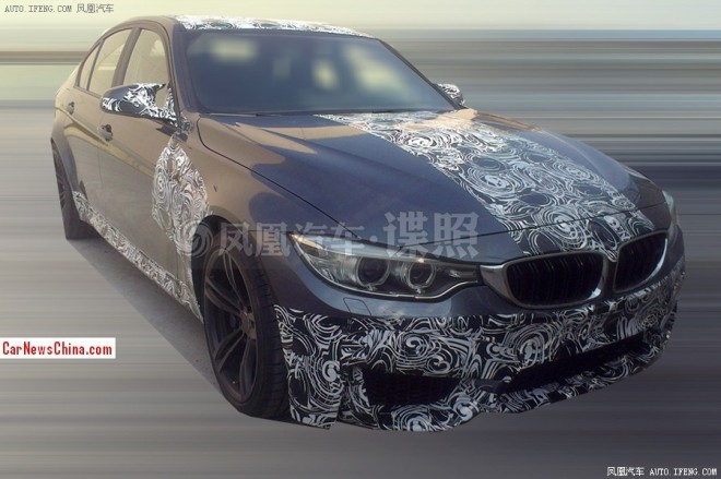 Spy Shots: 2014 BMW M3 testing in China, interior revealed