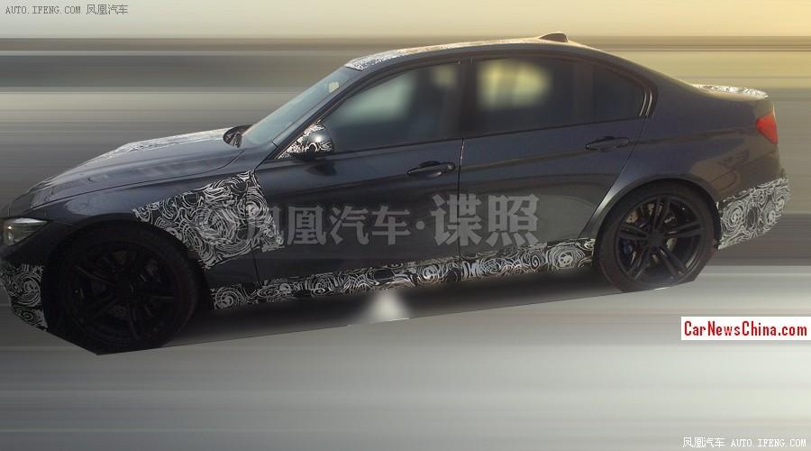 2014 - [BMW] M3 & M4 [F80/F82/F83] - Page 15 2014-bmw-m3-china-spy-2