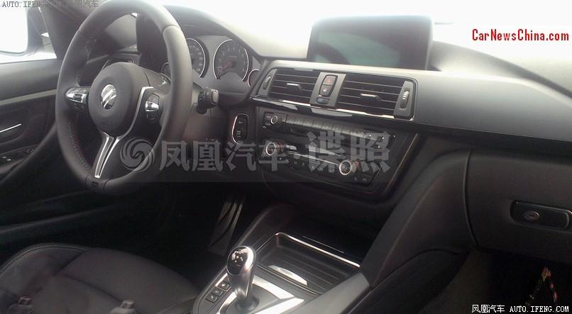 2014 - [BMW] M3 & M4 [F80/F82/F83] - Page 15 2014-bmw-m3-china-spy-4