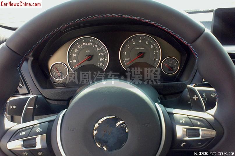 2014 - [BMW] M3 & M4 [F80/F82/F83] - Page 15 2014-bmw-m3-china-spy-5