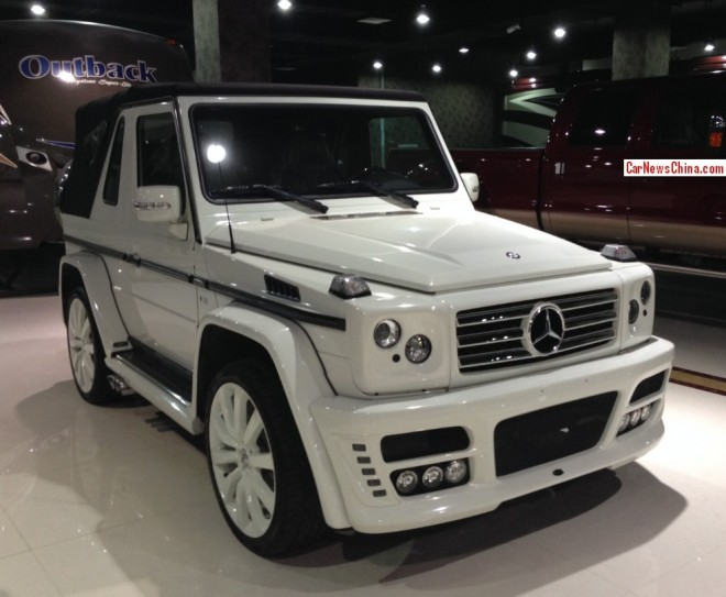 Spotted in China: ART Mercedes-Benz G500 Cabriolet Streetline
