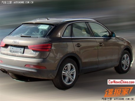 Spy Shots: Audi Q3 will get a 1.8 Turbo in China