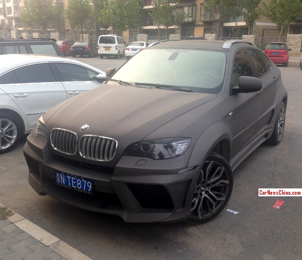 Bmw Xdrive35i Price: Spotted In China: BMW X6 With A Fatass Body Kit