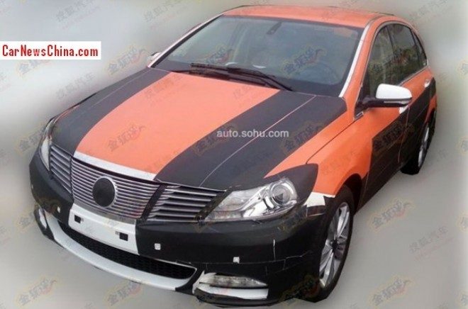 Spy shots: BYD-Daimler Denza EV is finally getting somewhere