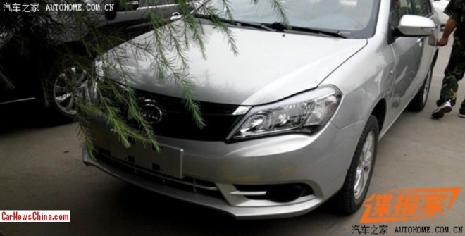 Spy Shots: facelifted BYD F3 is Ready for the China car market