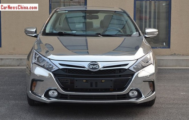 The new BYD Qin is Bling in China