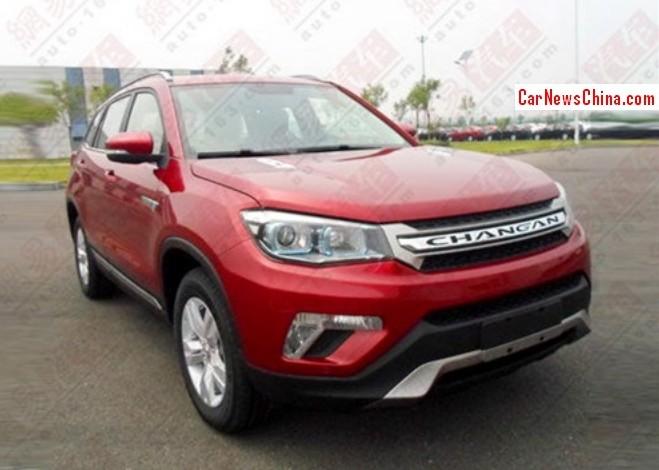 Spy Shots: Changan CS75 is Ready for the China car market