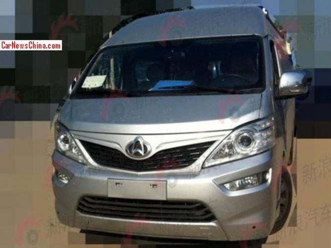 Spy Shots: Changan Zunxing is a Toyota Hiace clone