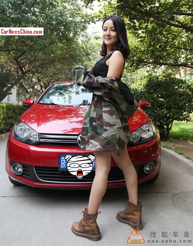 china-girl-volkswagen-golf-3