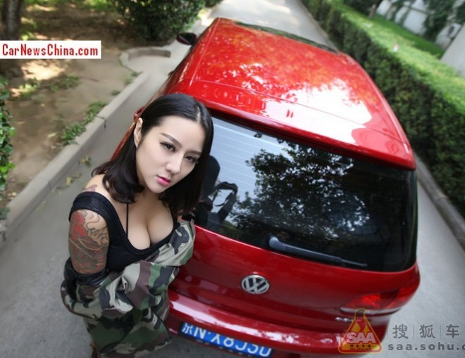 china-girl-volkswagen-golf-6