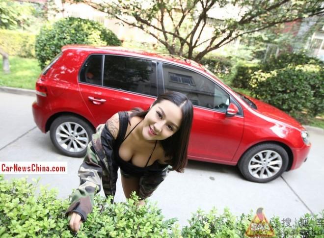 china-girl-volkswagen-golf-9a