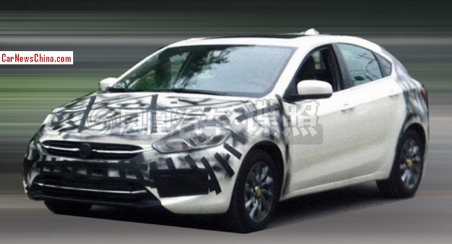 Spy Shots: Fiat Viaggio hatchback seen testing in China