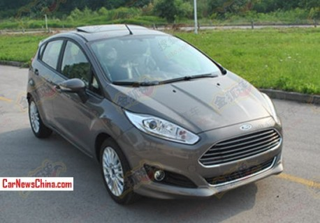 Spy Shots: Ford Fiesta will get a 1.0 Turbo in China