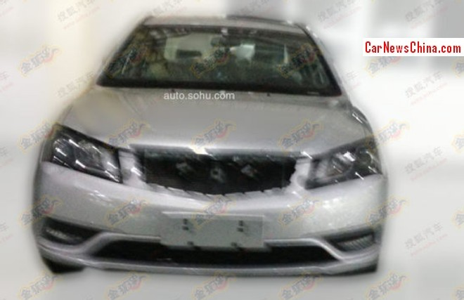 Spy Shots: facelift for the Geely Emgrand EC7 in China