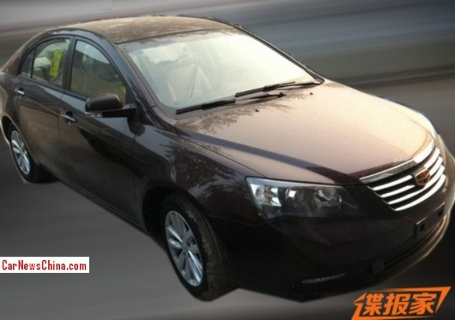 Spy Shots: Geely Emgrand EC713T testing in China