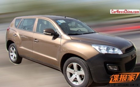 Spy Shots: Geely's good old Emgrand EX8 SUV seen testing in China again