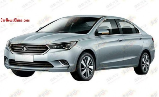 Patent Applied: new large sedan for Great Wall in China