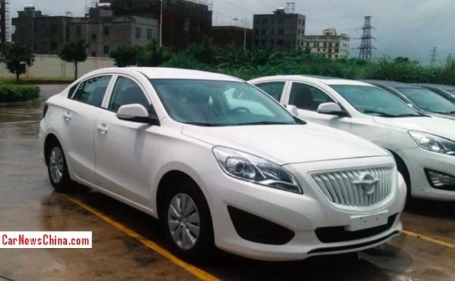 Spy Shots: Haima M5 is Ready for the China car market