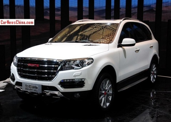 Haval H8 SUV will hit the China car market in November
