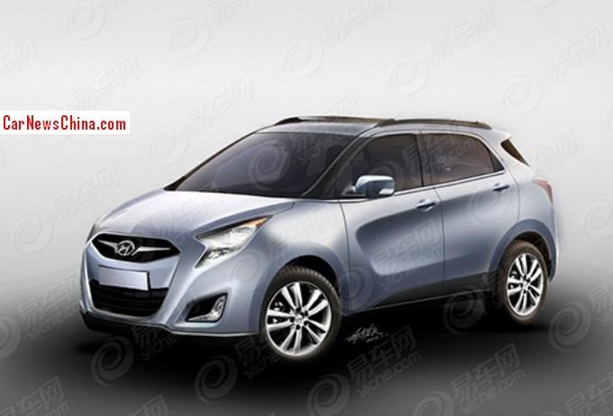 2014 - [Hyundai] iX-25 Hyundai-ix25-china-ren-1