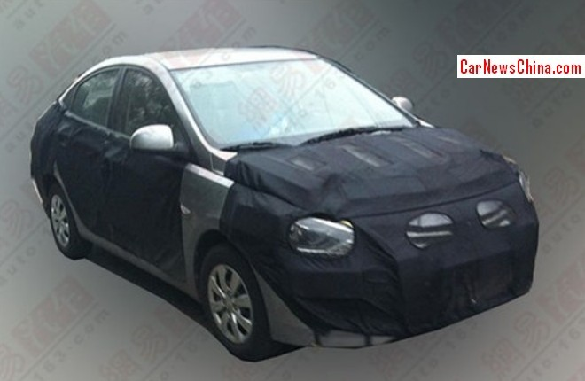 Spy Shots: facelifted Hyundai Verna testing in China