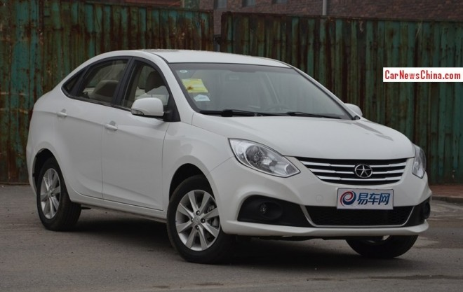JAC Heyue A30 will be launched on the China car market on November 2