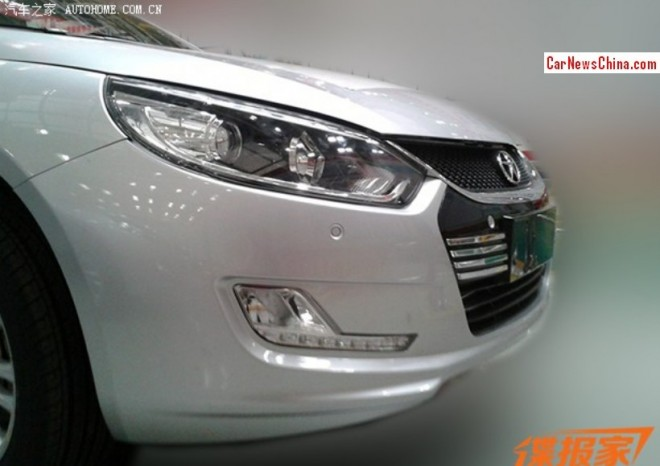 Spy Shots: facelift for the JAC Heyue sedan in China