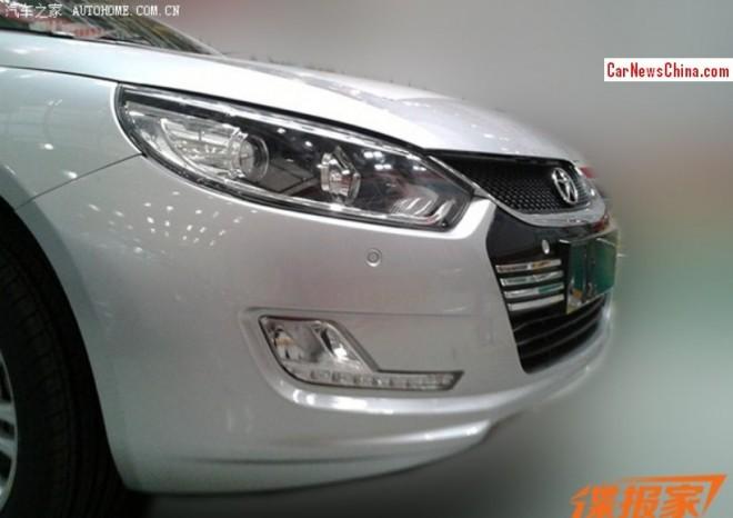 Spy Shots: facelift for the JAC Heyue sedan in China