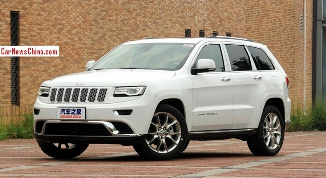 Jeep Grand Cherokee 3.0 V6 hits the China car market