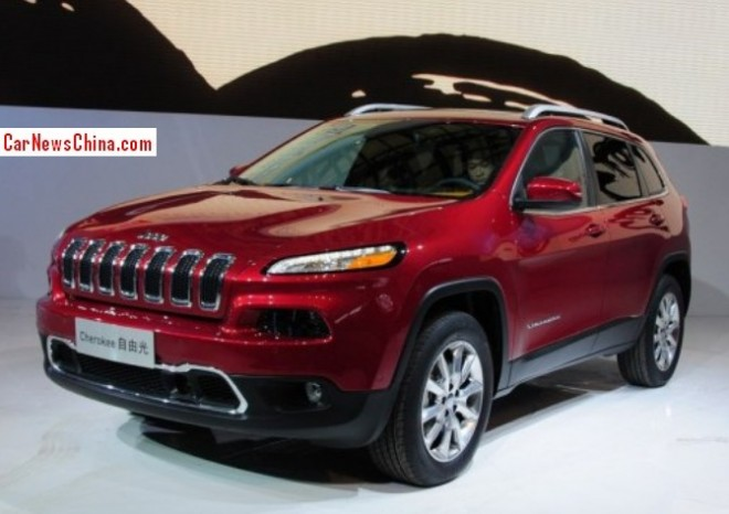 Production of the Jeep Cherokee in China will start in 2015