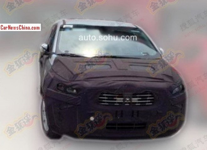 Spy Shots: new Kia Sedona MPV testing in China